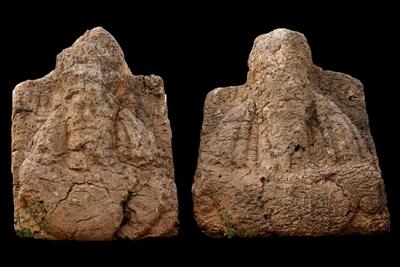 Due dei busti monumentali del sovrano sasanide Narseh che decoravano il monumento di Paikuli, oggi al museo di Sulaimaniyah (foto DiSA-MAIKI)