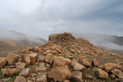 Resti del monumento sasanide di Paikuli (Copyright MAIKI)