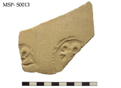Ricognizione archeologica della MAIKI; ceramica sasanide rinvenuta nel sito MSP-0013 (Copyright MAIKI)