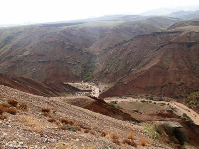 La ricognizione archeologica della MAIKI; i monti Zagros (Copyright MAIKI)