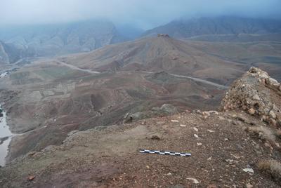 La ricognizione archeologica della MAIKI; il sito MSP-0022. (Copyright MAIKI)