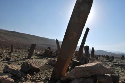 La ricognizione archeologica della MAIKI; un cimitero identificato e geolocalizzato durante la ricognizione archeologica della MAIKI (Copyright MAIKI)