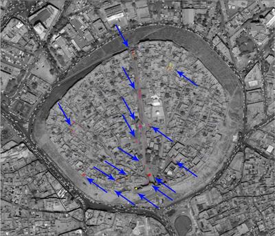 Risultati preliminari delle prospezioni con GPR sulla Cittadella di Erbil – MAECI-IsIAO Cooperation Project (foto DiSA-MAIKI-IsIAO)