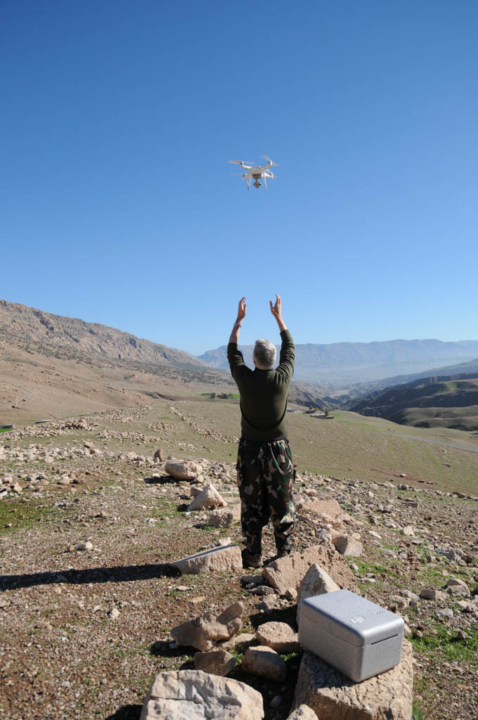 Drone landing (Copyright MAIKI)